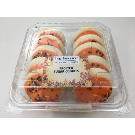 Walmart Stores Inc The Bakery Harvest Orange Frosted Sugar Cookies 10 Count 13 5 Oz Reviews 2021