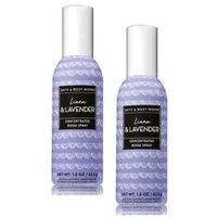 Bath and Body Works 2 Pack Linen & Lavender Concentrated Room Spray. 1.5 Oz.