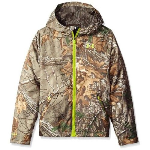 Under Armour 1259276 Boy's Realtree Xtra Storm Scent Control Barrier Jacket