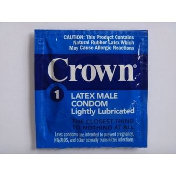 Okamoto CROWN condoms Also available in quantities of 25, 50, 100 - (12 condoms)