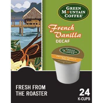 Mountain Green Green Mountain French Vanilla DECAF Coffee (4 Boxes of 24 K-cups)