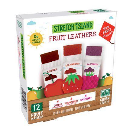 Stretch Island Fruit Leathers, Variety, 12 ct, 0.5 oz