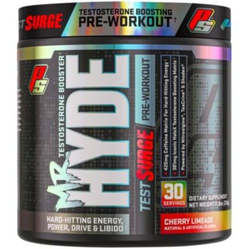 Mr. Hyde Test X Pre-Workout with Testosterone Boosting - Cherry Limeade (30 Servings / 12.7 oz.)