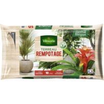 TERREAU - TERRE - SABLE Terreau rempotage plante d'intérieur 10 L