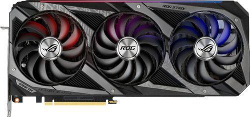 ASUS - GeForce RTX 3090 24GB GDDR6X PCI Express 4.0 Strix Graphics Card - Black