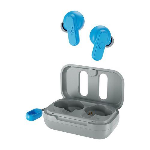 Skullcandy - Dime True Wireless In-Ear Headphones - Light Grey