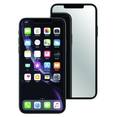 Onn iPhone XS Max Screen Protector with Mirror Finish