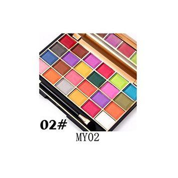 Binmer(TM) MISS ROSE 24 Colors Cosmetic Eyeshadow Palettes Eye Beauty Makeup Plate