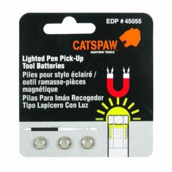 Mayhew Steel Products 45055 Cats Paw Battery Pack For Lighted Pen Pick Up Tool 45045