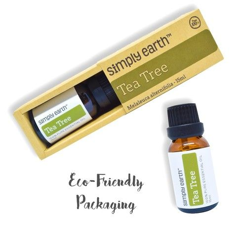 Tea Tree Essential Oil by Simply Earth - 15 ml, 100% Pure Therapeutic Grade