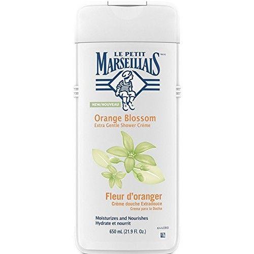 Le Petit Marseillais Extra Gentle Shower Cream, Orange Blossom 21.9 oz (8 Pack)