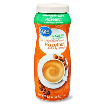 Great Value 10.2 Oz Sugar Free Hazelnut Creamer