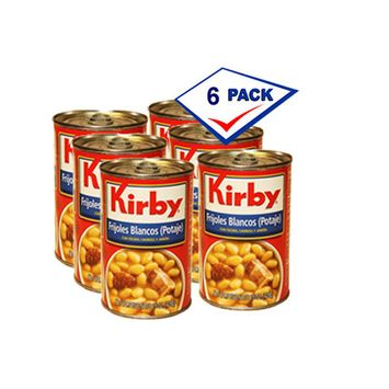Kirby White Bean Pottage 15 oz each. Pack of 6