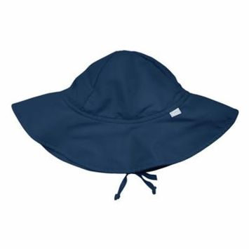 i play. Brim Sun Protection Hat-Navy-0/6mo