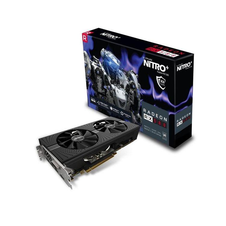 Sapphire Radeon Nitro+ Rx 580 8gb Oc Gddr5 Graphics Card