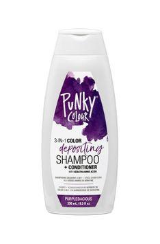 3-in-1 Color Depositing Shampoo + Conditioner - Purpledacious