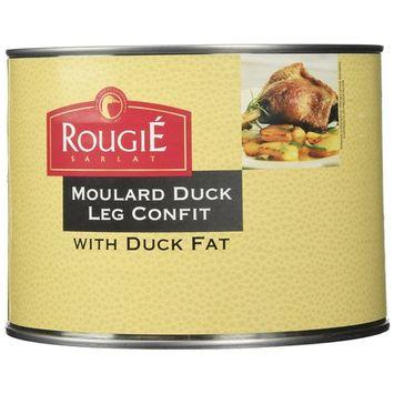 Rougie Confit of Duck Legs, 4 legs, 53oz (8 PACK)