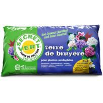 Terre de bruyère bio pour plantes acidophiles 40 litres Unitaire