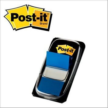 Post-it® Flags Value Pack, 1 in Wide, 50/Dispenser, 12 Dispensers/Pack