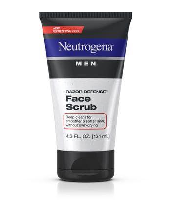 Neutrogena® Men Razor Defense™ Face Scrub