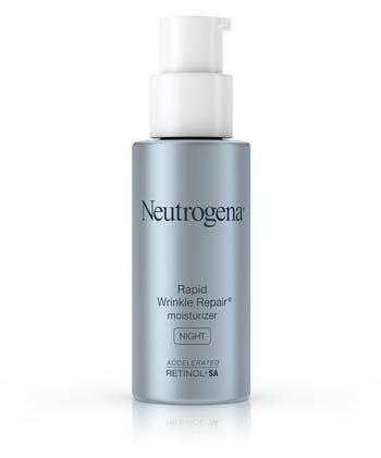 Neutrogena® Rapid Wrinkle Repair® Night Face Moisturizer with Retinol, Hyaluronic Acid