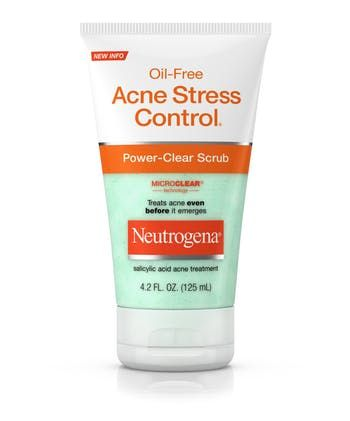 Neutrogena® Oil-Free Acne Stress Control® Power-Clear Scrub