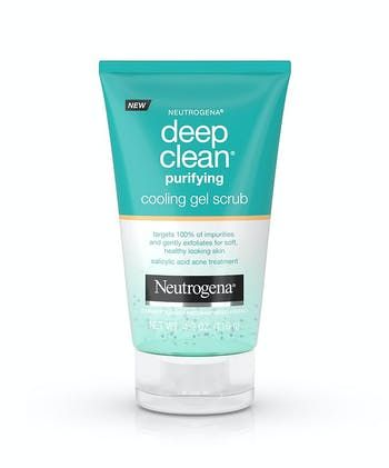 Neutrogena® Deep Clean® Purifying Cooling Gel Scrub