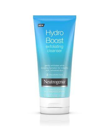 Neutrogena® Hydro Boost Daily Gel Cream Exfoliating Cleanser with Hyaluronic Acid