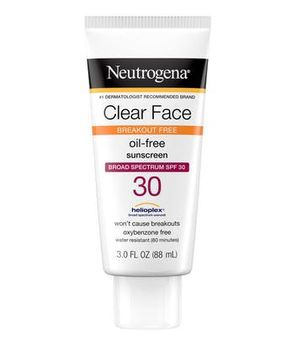 Neutrogena® Clear Face Break-Out Free Liquid Lotion Sunscreen Broad Spectrum SPF 30