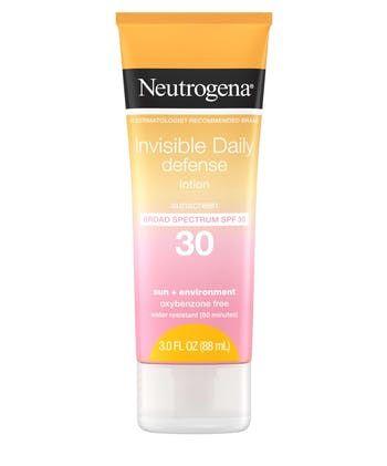 Neutrogena® Invisible Daily Defense Sunscreen Lotion SPF30