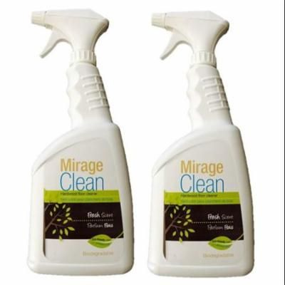 Mirage Clean 1 Liter Hardwood Floor Cleaner 32 oz Spray (Pack of 2)