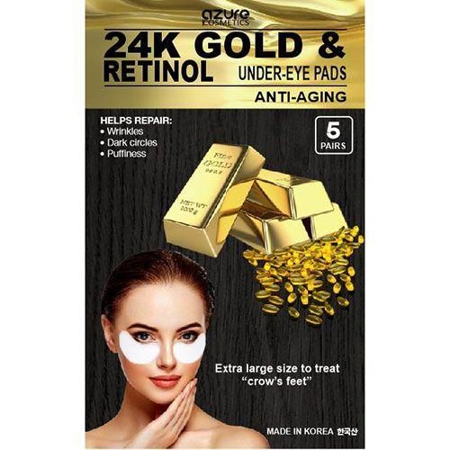azure 24K Gold & Retinol Eye Mask