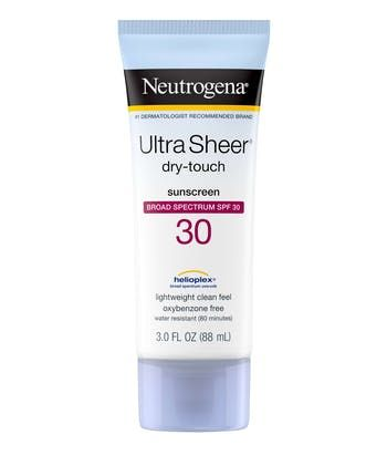 Neutrogena® Ultra Sheer® Dry-Touch Sunscreen Broad Spectrum SPF 30