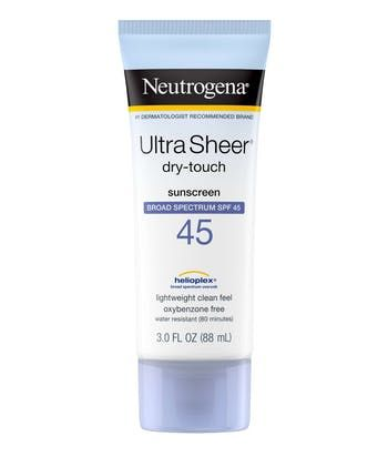 Neutrogena® Ultra Sheer® Dry-Touch Sunscreen Broad Spectrum SPF 45