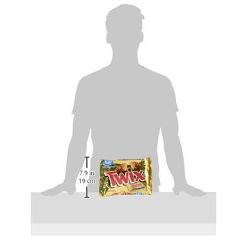 TWIX Caramel Fun Size Chocolate Cookie Bar Candy 10.83-Ounce Bag (Pack of 5)