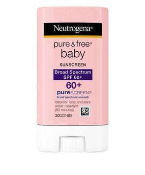Neutrogena® Pure & Free® Baby Sunscreen Stick Broad Spectrum SPF 60+