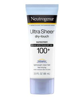Neutrogena® Ultra Sheer® Dry-Touch Sunscreen Broad Spectrum SPF 100+
