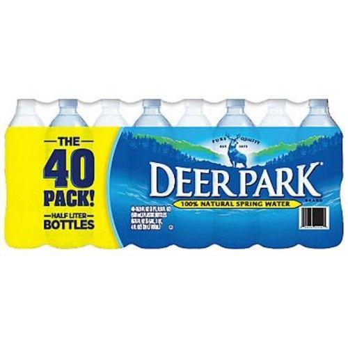 Deer Park Natural Spring Water 16.9 oz. bottles, 40 pk. A1