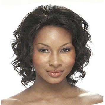 IT'S A WIG Human Lace Front Wig SABINA - Color#2 - Dark Brown