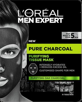 L'Oréal Paris Pure Charcoal Purifying Tissue Mask 30g
