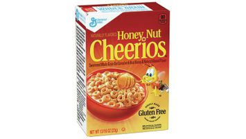 Honey Nut Cheerios™ Gluten Free Cereal Single Serve Singlepak .81 oz