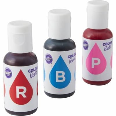 Wilton Blue and Pink Color Right Performance Color System Food Coloring Set