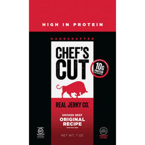 Chef's Cut Real Jerky Co. Original Recipe Smoked Beef, 7 oz.