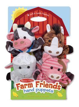 Melissa & Doug 19080 Farm Friends Hand Puppets