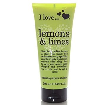 I Love Lemons & Limes Exfoliating Shower Smoothie 6.8 Fl Oz