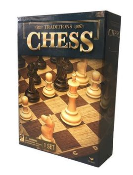 Cardinal Games Traditions Chess Board Game