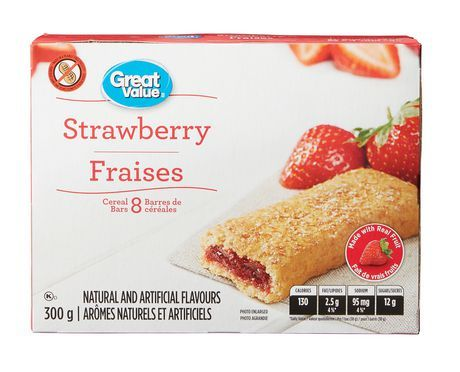 Great Value Strawberry Cereal Bars