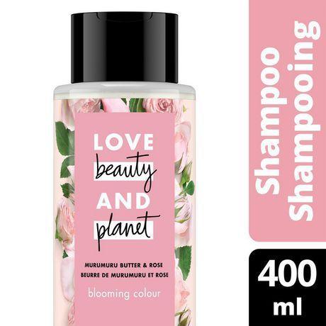Love Beauty And Planet Murumuru Butter & Rose Oil Blooming Colour Shampoo 400Ml