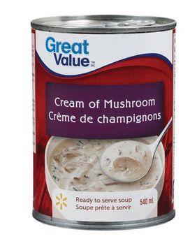 Great Value Cream of Mushroom Soup