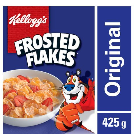 Kellogg's Frosted Flakes Cereal, 425g/15oz, Imported From Canada}